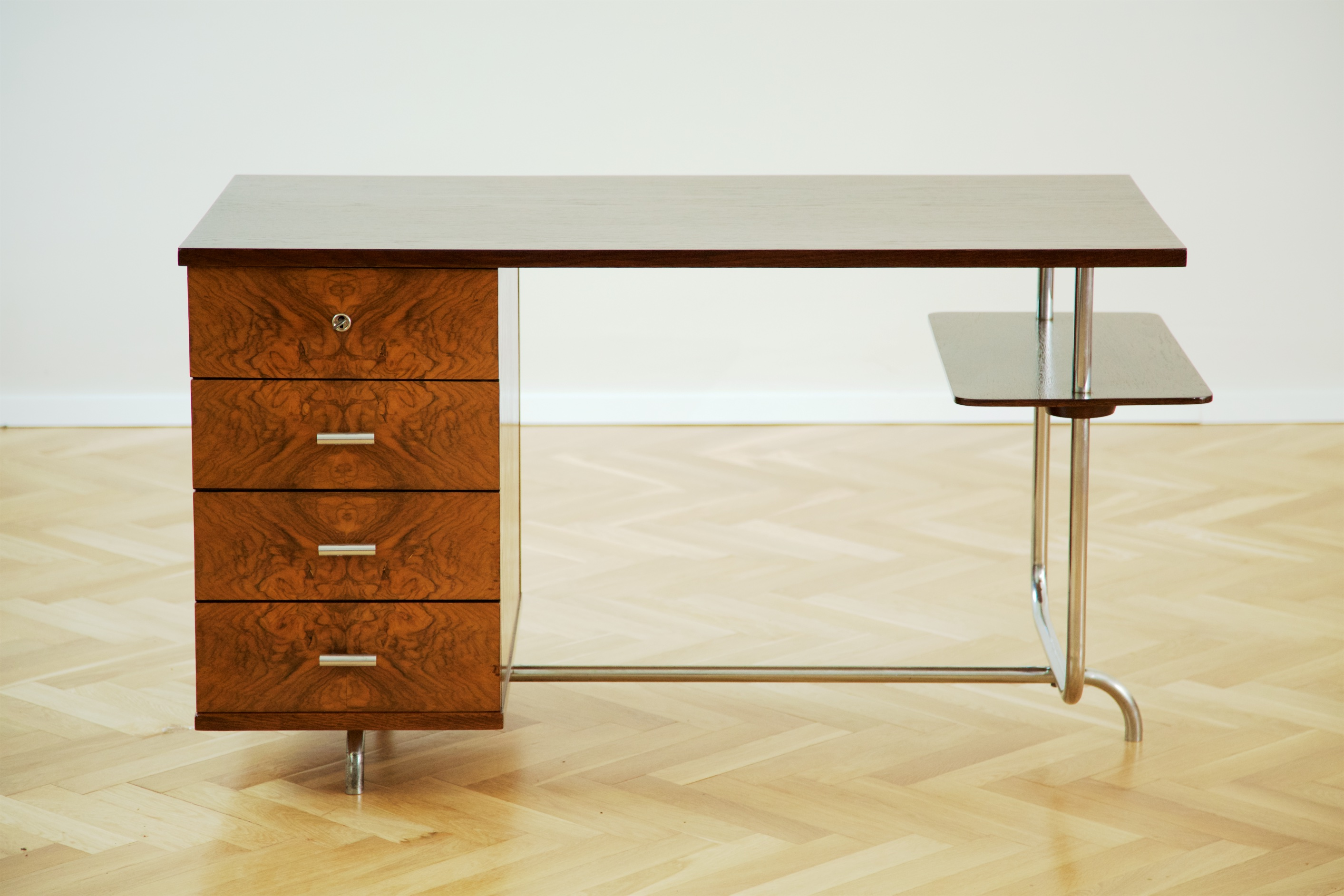Functionalist Writing Desk H 180 By Jindřich Halabala